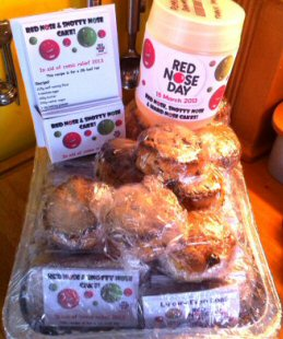 Comic Relief Bakes
